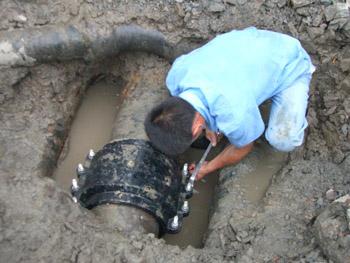 地下自来水管道漏水检测维修